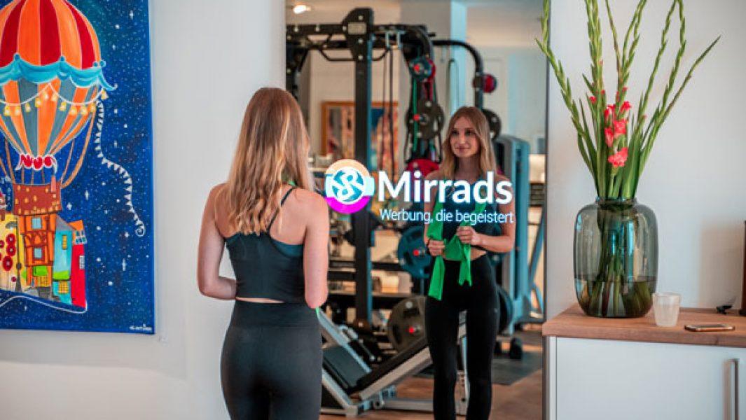 Smart Mirror im Gym
