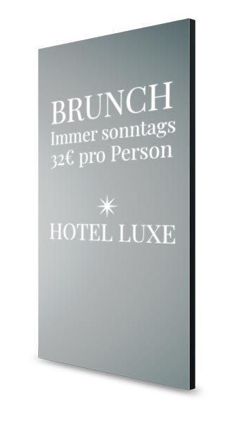 Hotel smarter Spiegel